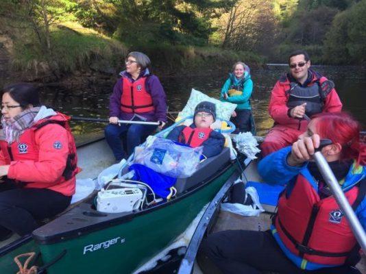 Sean Tye canoe trip